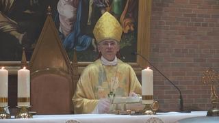 Проповедь. Епископ Иосиф Верт. Навечерие Пасхи в Святую ночь. 3 апреля 2021 год
