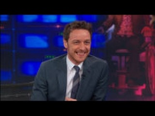 """""""The Daily Show with Jon Stewart"""" James McAvoy"""