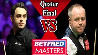 Ronnie O'Sullivan vs John Higgins QF Betfred Masters Snooker 2021 HD