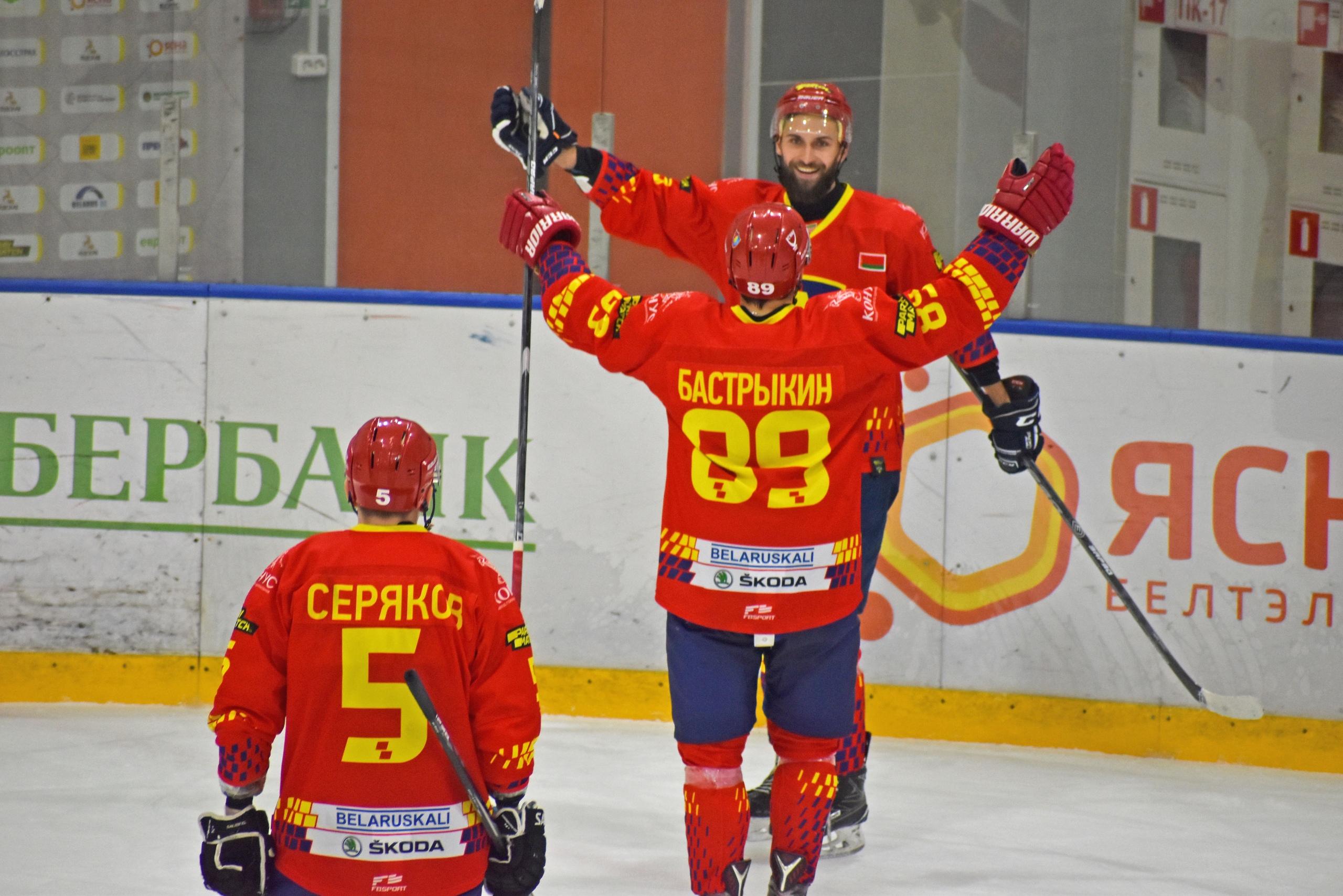 Хоккейный клуб «Лида» обыграл «Витебск».