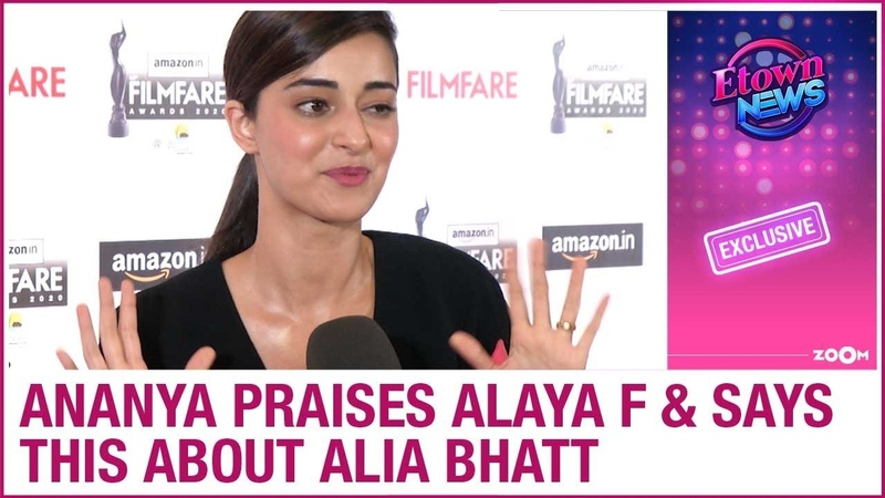 Ananya Panday praises Alaya F for Jawaani Jaaneman says THIS about Alia Bhatt's role in Gully Boy
