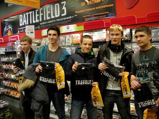 Вечерний старт продаж Battlefield 3