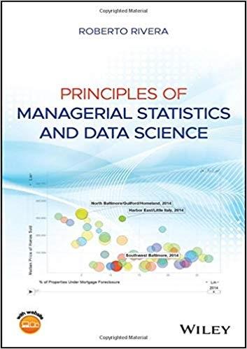 Principles of Managerial Statistics