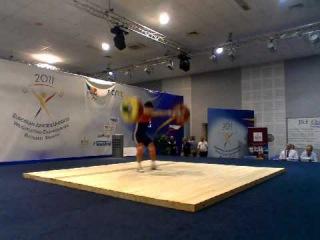 Chen Oleg - Snatch 157Kg