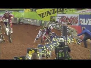 James Stewart Supercross Crashes 2011 Compilation