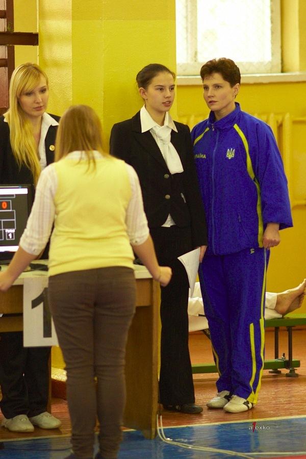 с мамой на соревнованиях (октябрь, 2010 г.)