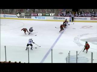 НХЛ 2013 2014 Миннесота Уайлд Колорадо Эвеланш 3 период 11 01 2014