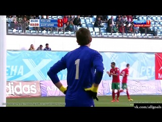 Чемпионат Европы-2015 / Россия (U21) 1-1 Болгария (U21) / Гол Колев /