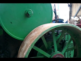 Vintage machinery exhibitions at Ironfest