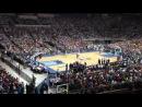 9 октября 2012 Шоу Данков на матче баскетбольной Барселоны Даллас