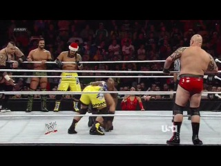 [WM] Brodus Clay & The Usos & Santino Marella & Tyson Kidd & Justin Gabriel vs. The Prime Time Players & 3MB &