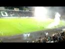 гол Торпедо в ворота Динамо на 50 минуте матча и салют в честь гола.