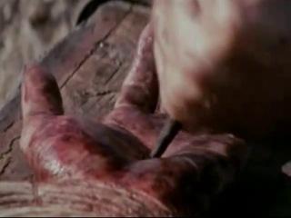 Трофим -  песня  Ты не бойся с видеокадром фильма Мела Гибсона Страсти Христовы