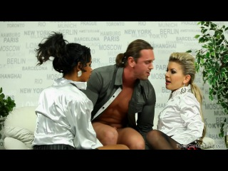 Fullyclothed Sex - Rihanna Samuel & Alex - Flashy In White Fuck Fiends