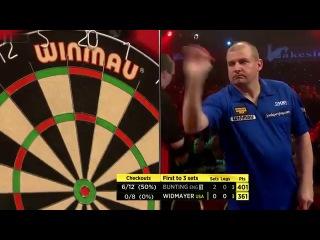 Stephen Bunting vs Jim Widmayer (BDO World Darts Championship 2014 / Round 1)