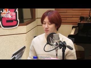 [140315] MBC C-Radio Idol True Colours, в гостях Хичоль 3/4 [русс. саб]