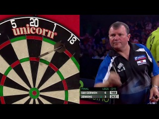 Michael van Gerwen vs Terry Jenkins (PDC European Championship 2014 / Final)
