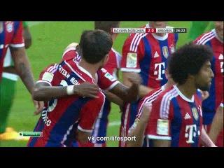 Бавария 2:0 Вердер | Гол Хаби Алонсо