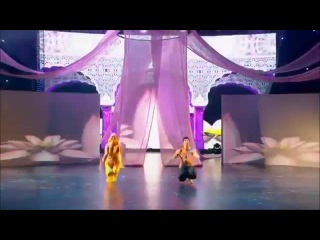 Виталий Савченко и Анна Тихая - индийский танец