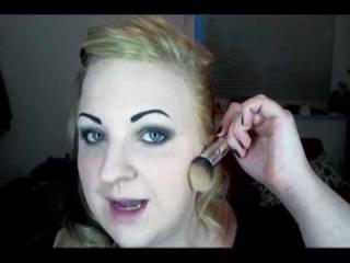 Megan Massacre Inspired Makeup