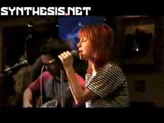 Paramore - Misery Business Live Acoustic