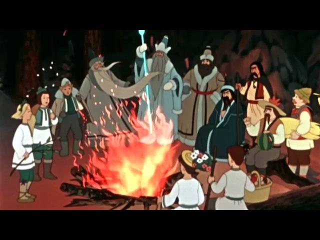 Двенадцать месяцев Лучшие советские новогодние мультфильмы сказки в HD качестве