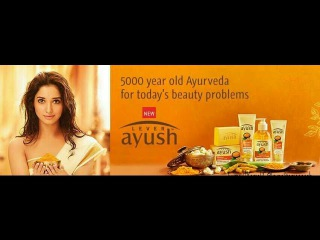•Tamannaah Bhatia New Ad!!! Lever Ayush - 5000 year old Ayurveda for Today's Beauty Problems (Tamil)