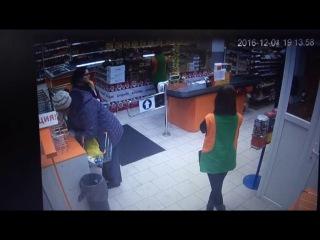 Грабеж в магазине ул. Машиностроителей