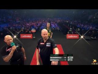 Raymond van Barneveld vs Simon Whitlock (PDC World Series of Darts Finals 2016 / Round 2)
