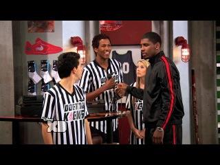 Kyrie Irving Appears on Disney XD's Kickin' It