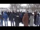 Революція в селищи Степаня В Степань утримують і блокують автобуси зі спецпризначенцями