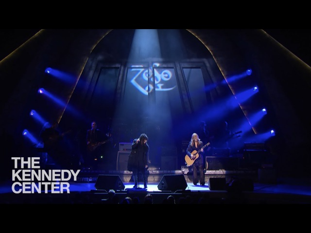 Stairway to Heaven Led Zeppelin Tribute Heart's Ann and Nancy Wilson 2012 Kennedy Center Honors