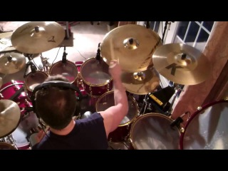 Jeff Wald 'Train' Drum Cover on Pearl Masterworks Drums and Audix Mics