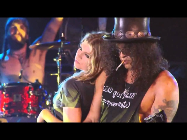Slash feat Fergie Sweet Child O Mine