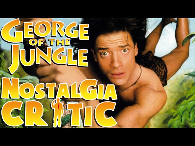 Disneycember George of the Jungle rus vo G NighT Nostalgia Critic Джордж из джунглей
