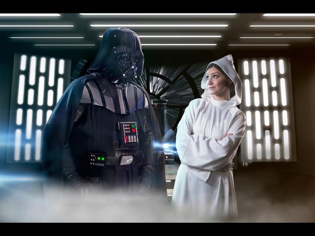 Star Wars Rap Battles Ep.1 Darth Vader vs Princess Leia