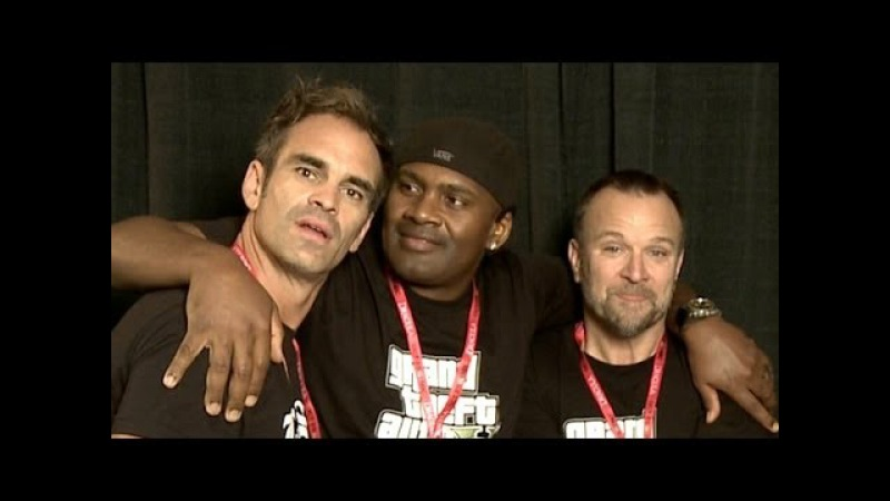 GTA 5 Michael, Franklin, and Trevor in the Flesh