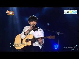 150408 EXO 엑소 (Suho, Xiumin, Chen, ChanYeol) - Nguoi Ay (Người Ấy) @ Music Bank in Ha Noi 2015