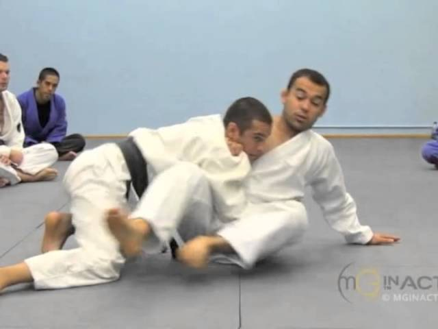 Side Control Escape 1 of 3 SIT UP with Marcelo Garcia