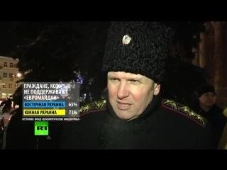 На востоке Украины формируются отряды добровольцев для защиты действующей власти