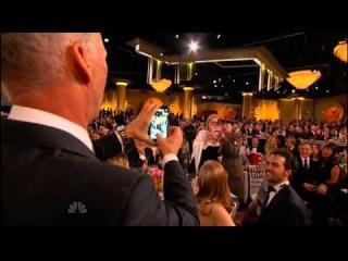 Golden Globes 2015  Benedict Cumberbatch Photobombs Meryl Streep and Margaret Cho
