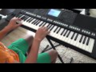 Kozak System feat. Enej, Maleo Reggae Rockers - Brat za brata keyboard PSR-s750 cover