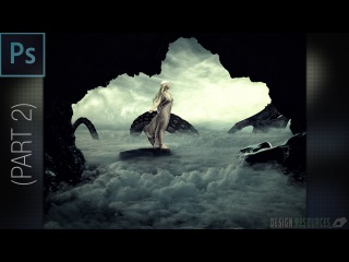 Mother Of Dragons Photo Manipulation — Photoshop Tutorial #2