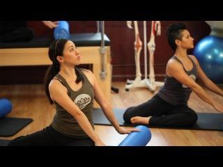 Upside-Down Pilates - Foam Roller - Lesson 60 - Full 30 Minute Pilates Workout - HD