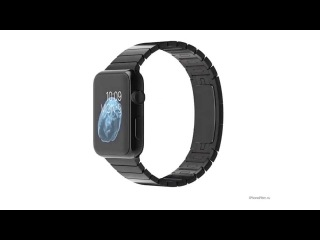 Apple Watch Space Black Stainless Steel Case with Space Black Stainless Steel Link Bracelet