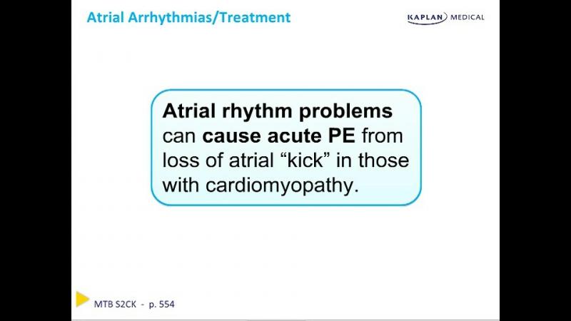 Emergency Med - Chapter 4 Cardiac Rhythim Disorders