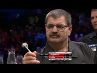 Gary Anderson vs Warren Parry (Sydney Darts Masters 2015 / Round 1)
