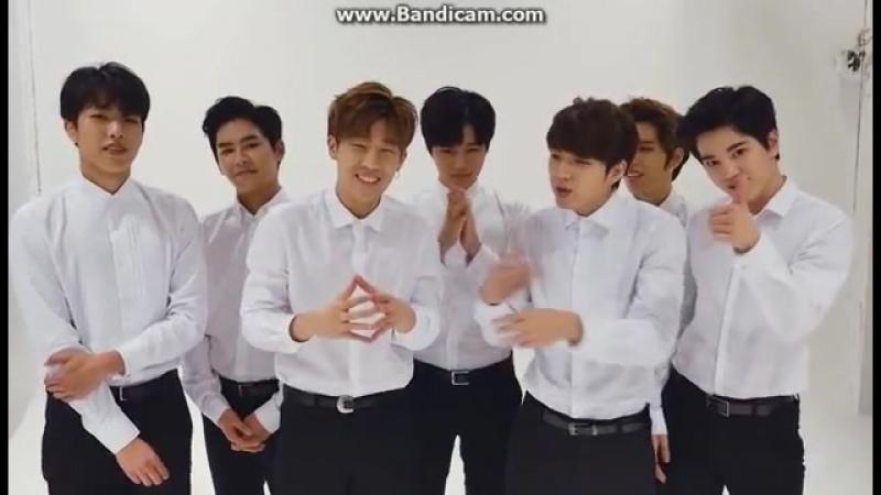 150605 Infinite 5th Anniversary Inspirits Sparkle Night Preivew - Greeting Message