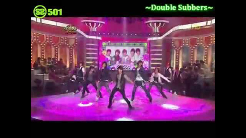 SS501 - ShaBang ShaBang Chuseok Special 09.15.08
