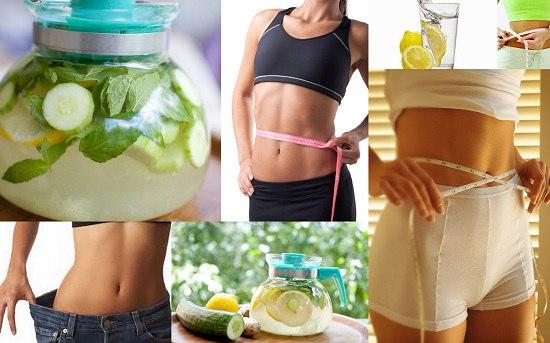 Вода для похудения несси